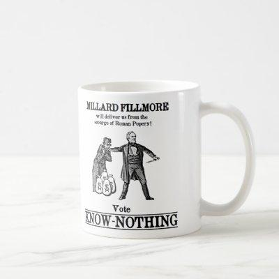 Vote Know Nothing Coffee Mug
