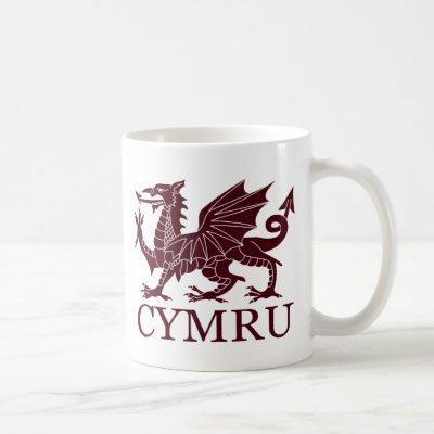 Wales CYMRU Coffee Mug