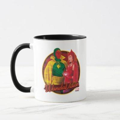 WandaVision Halloween Graphic Mug