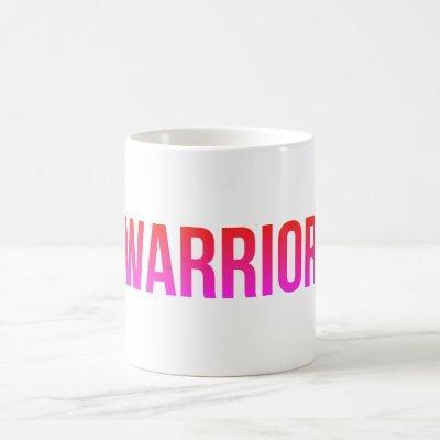 Warrior Coffee Tea Mug