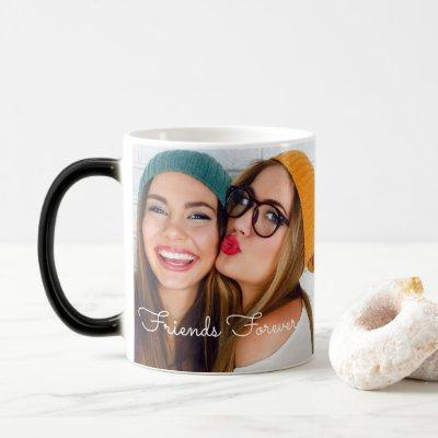 Watch as your photo appears on morphing Magic Mug