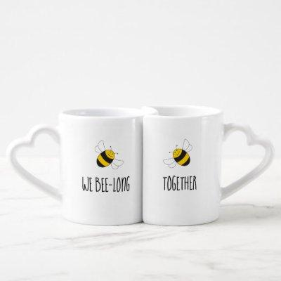 We belong together bumblebee sweetheart mug