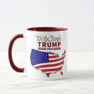 """We The People"" Trump 2020 Coffee Mug"