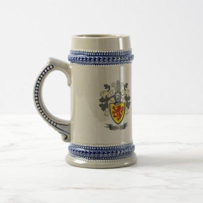 Wells Coat of Arms Beer Stein