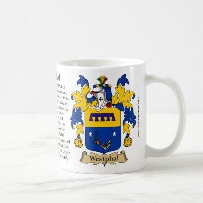 Westphal, the Origin, the Meaning and the Crest Coffee Mug
