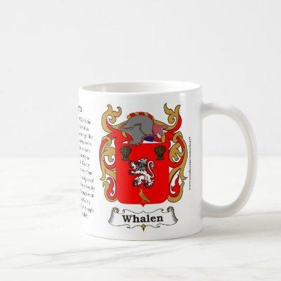 Whalen Family Coat of Arms Mug