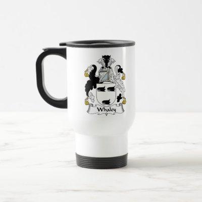 Whaley Family Crest Travel Mug