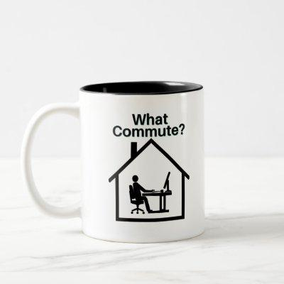 What Commute? Two-Tone Coffee Mug