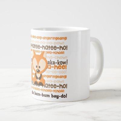 What Does the Fox Say Coffee Mug