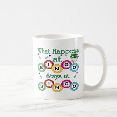 What Happens at Bingo Coffee Mug