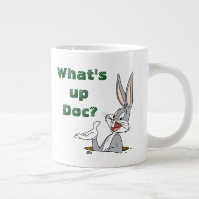 WHAT'S UP DOC?™ BUGS BUNNY™ Rabbit Hole Large Coffee Mug