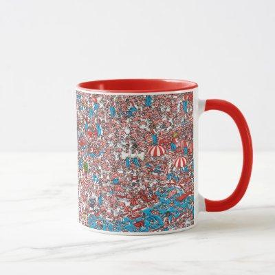 Where's Waldo Land of Woofs Mug