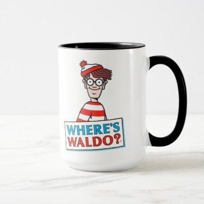 Where's Waldo Logo Mug