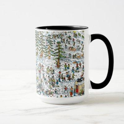 Where's Waldo Ski Slopes Mug
