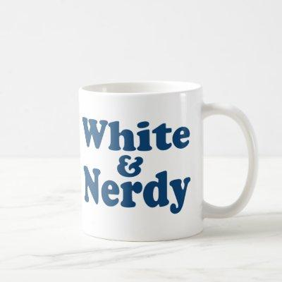 White and Nerdy Coffee Mug
