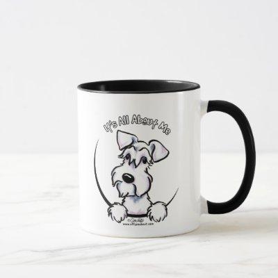 White Schnauzer IAAM Mug