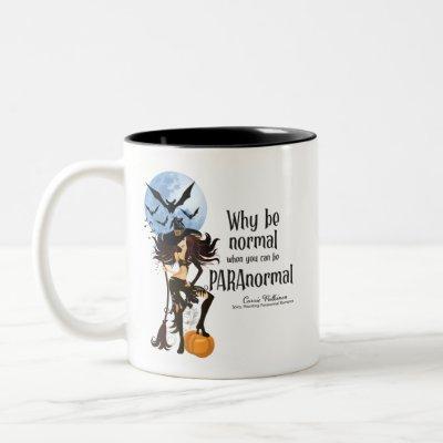 Why Be Normal Two-Tone Coffee Mug