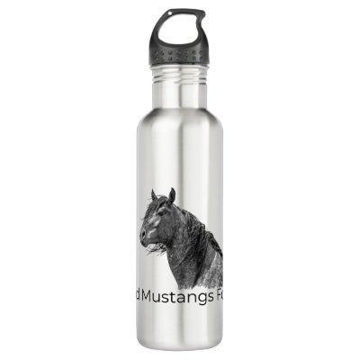 Wild Mustangs Forever Water Bottle