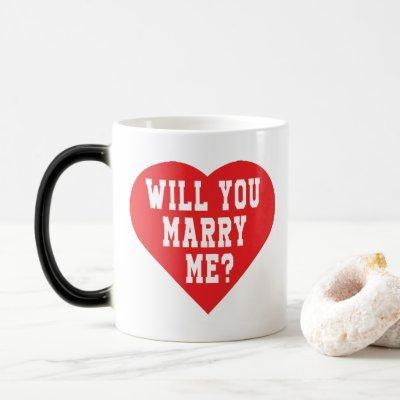 Will You Marry Me? Proposal Magic Mug