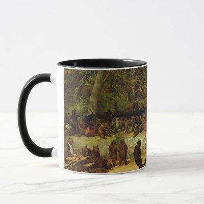 William Holbrook Beard - The Bear Dance Mug