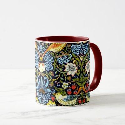 William Morris - Strawberry Thief Mug