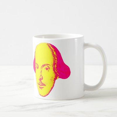 William Shakespeare Pop Art Mug