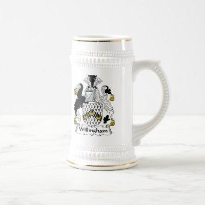 Willingham Family Crest Beer Stein