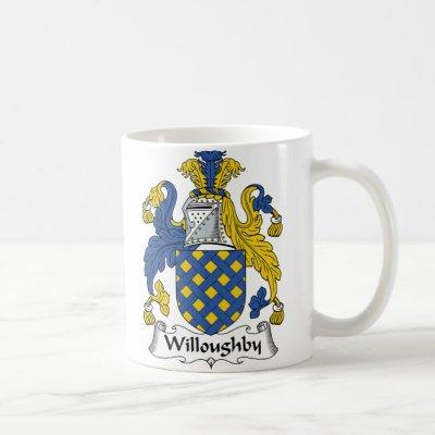 Willoughby Family Crest Coffee Mug
