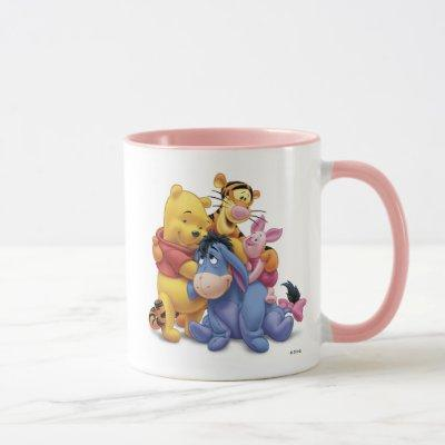 Winne the Pooh and Friends Disney Mug