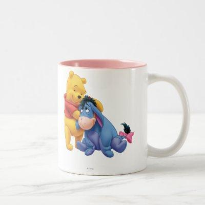 Winnie the Pooh and Eeyore Two-Tone Coffee Mug