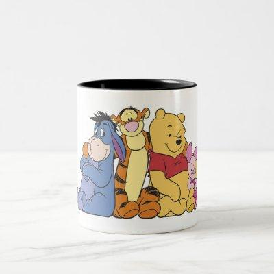 Winnie the Pooh and Friends Two-Tone Coffee Mug
