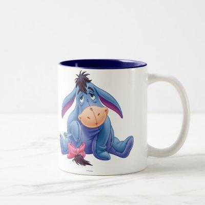 Winnie the Pooh   Eeyore Smile Two-Tone Coffee Mug