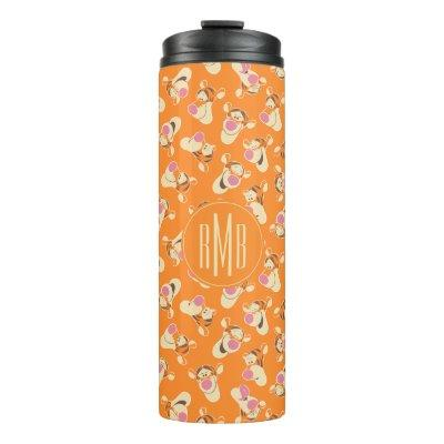 Winnie the Pooh   Tigger Faces Pattern Thermal Tumbler