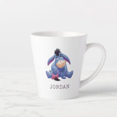 Winnie The Pooh's Eeyore Holding Tail Latte Mug