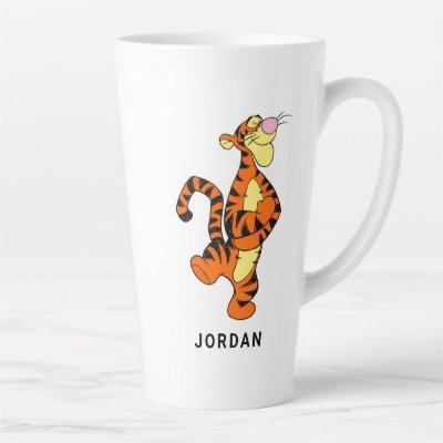 Winnie The Pooh's Tigger Walking Merrily Latte Mug