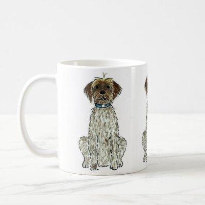 Wirehaired Pointing Griffon Dog Coffee Mug