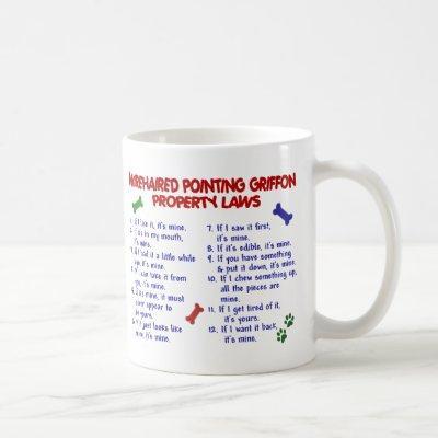 WIREHAIRED POINTING GRIFFON PL2 COFFEE MUG