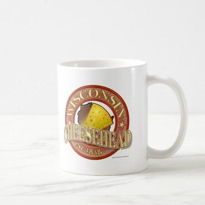 Wisconsin Cheesehead Seal Coffee Mug