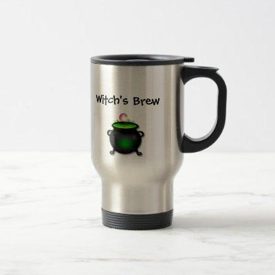 Witch's Brew/Broom Mug