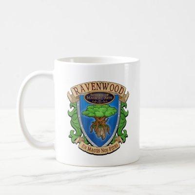 Wizard101 Ravenwood Coat of Arms Mug