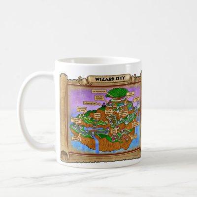 Wizard101 Wizard City Map Coffee Mug