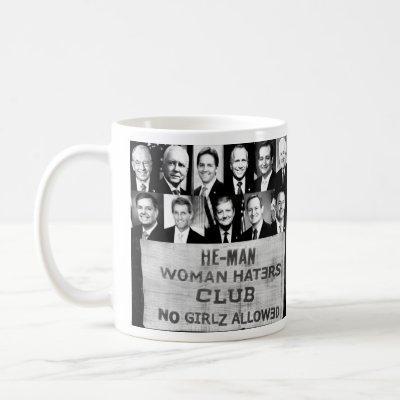 Woman Haters Coffee Mug