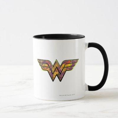 Wonder Woman Colorful Logo Mug