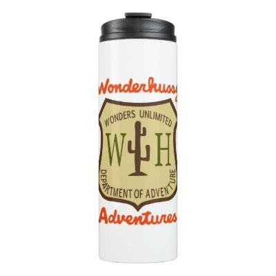 Wonderhussy Adventures Official Desert Badge Thermal Tumbler