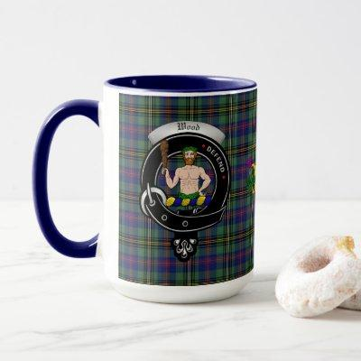 Wood Clan Badge Combo 15oz Mug