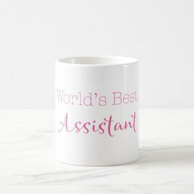 World's Best Assistant Coffee Mug