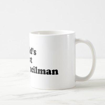 World's Best City Councilman Coffee Mug