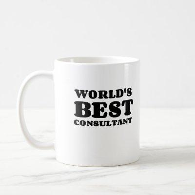 WORLD'S BEST CONSULTANT COFFEE MUG