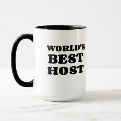 WORLD'S BEST HOST MUG