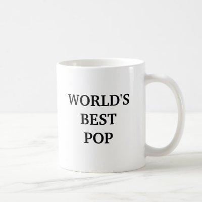 WORLD'S BEST POP COFFEE MUG
